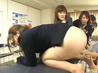 Asian teen girls give their asses for anal sex