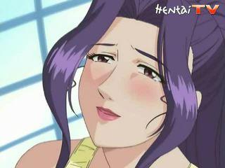 Manga coquette ne toli nuo didžiulis krūtys