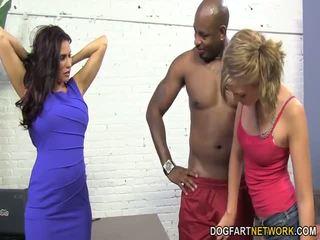 Sheila marie & alana rains menerima anal hubungan intim