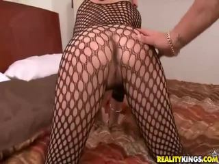 Gal in sexually excited outfit gets geneukt tube