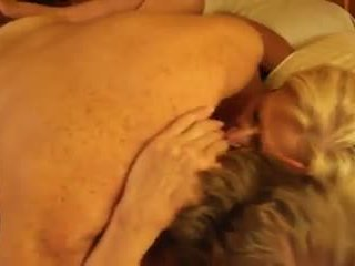 My Mom Martha Cums and Fucks Together with Her Bull.