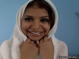Naturlig egyptiska flicka gets henne fittor