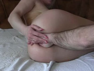 Hausgemacht anal fisten video