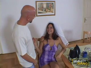 Amazing sexy redhead babe undressing in the living room