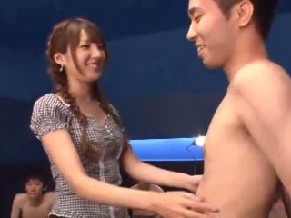 Tsubasa Amami gets covered by lots of cum