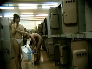 Old And Teens In Japanese Shower Hidden Cam
