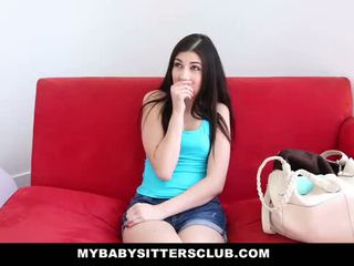 MyBabySittersClub - BabySitter Fucks Her Boss To Keep Her Job