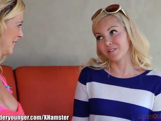 Lesbianolderyounger aaliyah armastus eating milf välja