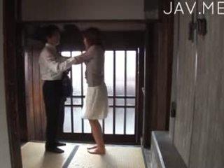 日本の, 巨乳, フェラチオ