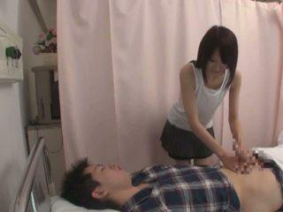 japonia, seksowny, pielęgniarka