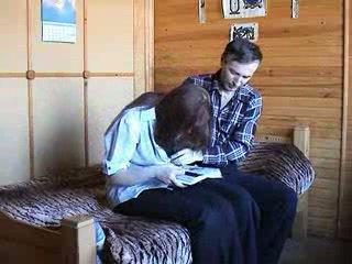 Молодий російська пара