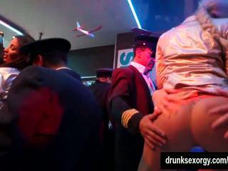 Horny Pornstar Suck Two Dicks in Club, HD Porn 9f