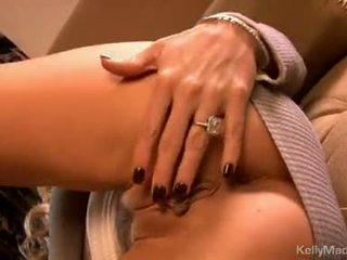 Kelly madison іграшки її moist сексуальна на the диван
