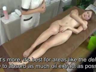 Subtitled enf cfnf warga jepun lesbian clitoris urut clinic