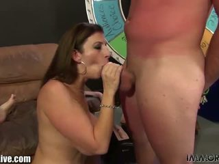 Immoral Live: Wild college sluts have a kinky orgy