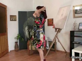 Sleaze Donna Jumps Onto Perverted Python