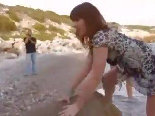 Naakt strand - frans hottie dp & cim, gratis porno df