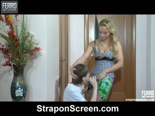 Blanch Rolf Amazing Strapon Movie