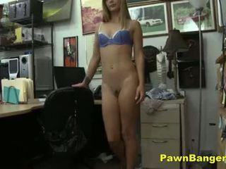 Cashing In Her Nice Tight Beaver