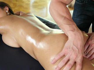 性感 bodied 裸 亚洲人 cutie sharon lee gets massaged
