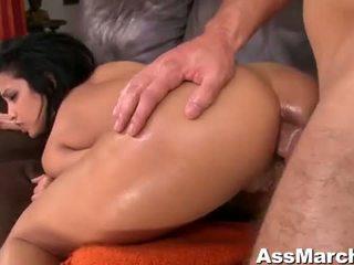 Sexy cu latina miúda abella anderson anal fodido vídeo