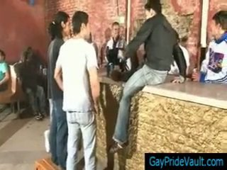 Steamy Homo Gangbar At The Bar Gaypridevault