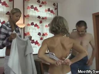 She is lured into lisan bukkake gangbang by his parents