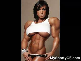 Karstās muscle girlfriends!