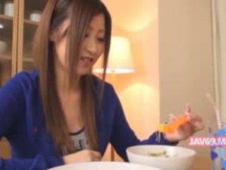Очарователни seductive корейски мадама прецака
