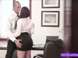 Hot Secretary Fucked Hard By His Boss