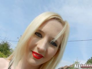 Allinternal Blonde Alice is Filled up with Cum: HD Porn 5d