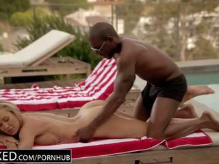BLACKED Cheating MILF Brandi Love's First Big Black Cock - Porn Video 931