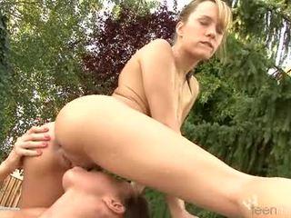 mutisks sekss, maksts masturbācija, licking maksts