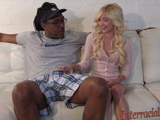 80lb blondine takes op 12 inch grootste zwart lul: hd porno b4