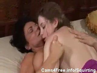 tryskać, lesbijka, mamusie i nastolatki