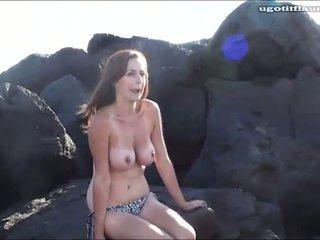 meitenes, pludmale, partija