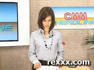 Nyheter reporter gets bukakke under henne arbeid (maria ozawa bu