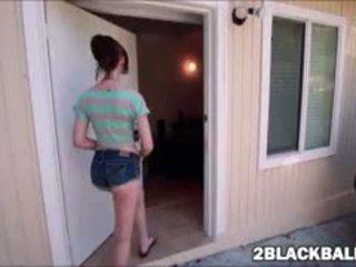 tươi brunette, lớn blowjob tất cả, xem interracial hq