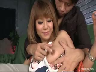 Kokoa Ayane's Shaved Pussy Filled With...