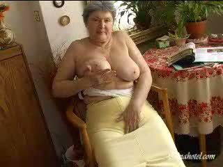 tits, old, granny
