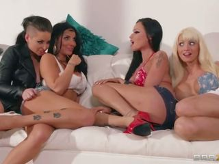 group sex, pussy licking, brazzers