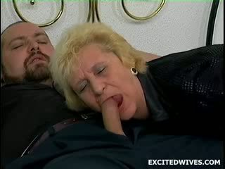 So this guy was sleeping at his mommy in law when he felt like jerking off. Ofcourse she comes in during the act and st