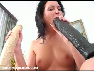 brunette, young, toys