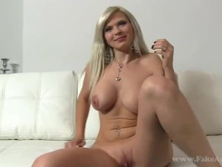 Blondine beauty barbara fake porno tryout