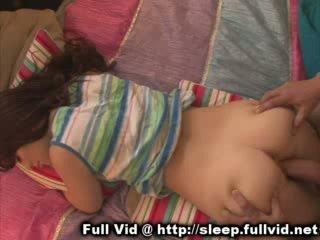 Slapen tiener facial