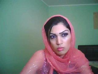 Uk bradford pakistanisch mieze shazia auf leben kamera zeigen