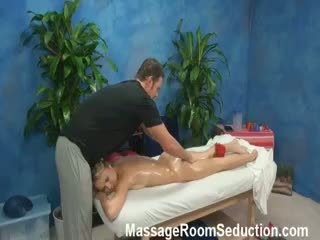 Natalia Seduced And Fucked By Her Massage Therapist On