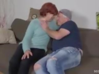 cum in mouth, grandma, granny