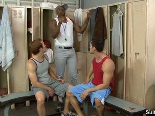 Trainer en zijn boys. alexander garrett, diesel washington en steven ponce