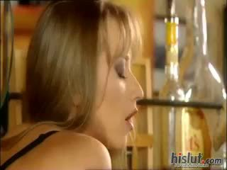 blowjob, cumshot, blonde